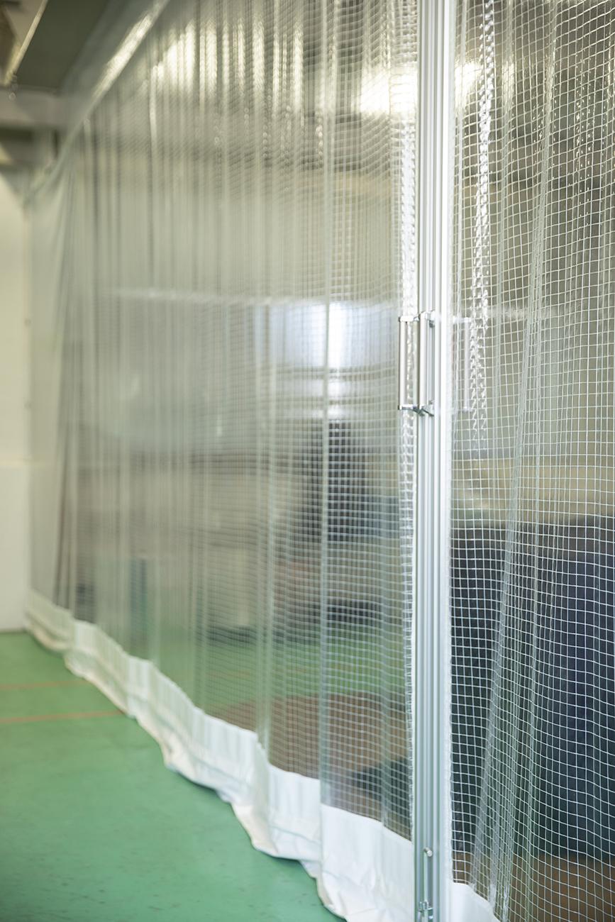 工場・倉庫用テントシート